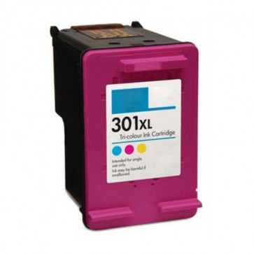 HP 301 XLCL (CH564EE) Colour, High Yield Remanufactured Ink Cartridge