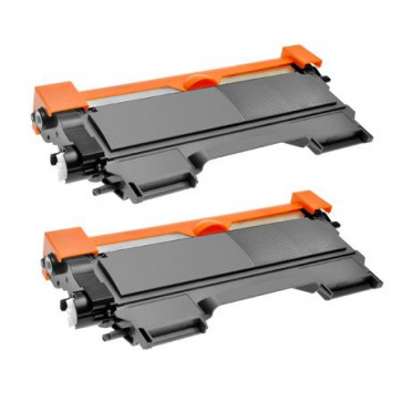 2 Multipack Brother other TN2220 High Quality Remanufactured Laser Toners. Includes 2 Black