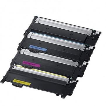 4 Multipack Samsung CLT-K404S High Quality  Laser Toners. Includes 5 Matte Black, 5 Photo Black, 2 Cyan, 2 Magenta, 2 Yellow, 2 Red,2 Grey, 2 Photo Cyan, 2 Photo Magenta, 2 Chroma Optimiser