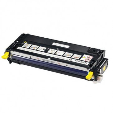 Dell 593-10173 Yellow, High Yield Remanufactured Laser Toner