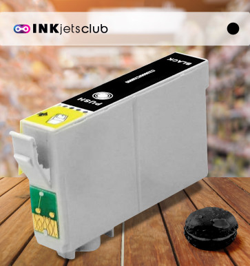 Epson T0891 (C13T08914010) Black, High Quality Remanufactured Ink Cartridge