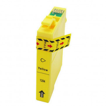 Epson T1284 (C13T12844011) Yellow, High Quality Remanufactured Ink Cartridge