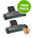 2 Multipack Samsung SCX-4521D3 High Quality  Laser Toners. Includes 2 Black
