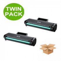 2 Multipack Samsung MLT-D1042S High Quality  Laser Toners. Includes 2 Black
