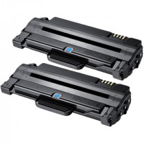 2 Multipack Samsung MLT-D1052S High Quality  Laser Toners. Includes 2 Black
