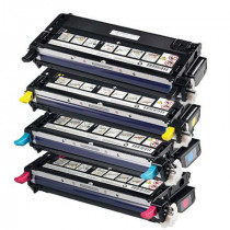 4 Multipack Dell 593-10170-10173 BK/C/M/Y High Quality Remanufactured Laser Toners. Includes 1 Black, 1 Cyan, 1 Magenta, 1 Yellow