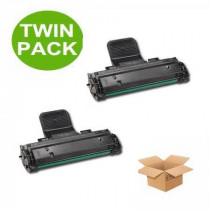 2 Multipack Samsung SCX-D4725A High Quality  Laser Toners. Includes 2 Black