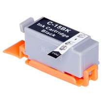 Canon BCI-15K Black, High Quality Compatible Ink Cartridge