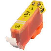 Canon CLI-521Y Yellow, High Quality Compatible Ink Cartridge