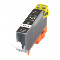 Canon CLI-521BK Black, High Quality Compatible Ink Cartridge