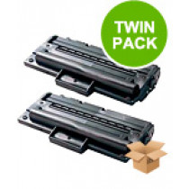 2 Multipack Samsung MLT-D1092S High Quality  Laser Toners. Includes 2 Black