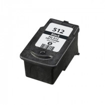 Canon PG-512 Black, High Yield Remanufactured Ink Cartridge