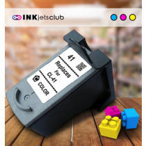Canon CL-41 Colour, High Quality Remanufactured Ink Cartridge