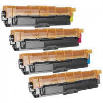 4 Multipack Brother other TN241 BK/C/M/Y High Quality Remanufactured Laser Toners. Includes 1 Black, 1 Cyan, 1 Magenta, 1 Yellow