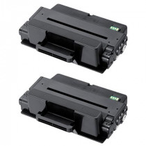2 Multipack Samsung MLT-D205L/ELS High Quality  Laser Toners. Includes 2 Black