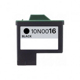 Lexmark 16 (10N0016E) Black, High Quality Remanufactured Ink Cartridge