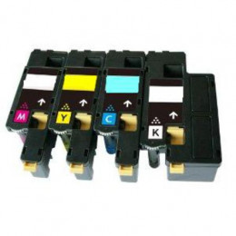4 Multipack Xerox   106R01627-30 BK/C/M/Y High Quality Remanufactured Laser Toners. Includes 1 Black, 1 Cyan, 1 Magenta, 1 Yellow