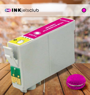 Epson T0893 (C13T08934010) Magenta, High Quality Remanufactured Ink Cartridge
