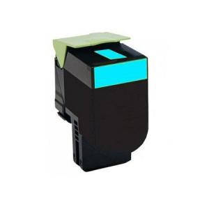 Lexmark 80C2SC0 Cyan, High Quality Remanufactured Laser Toner