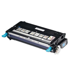 Dell 593-10171 Cyan, High Yield Remanufactured Laser Toner