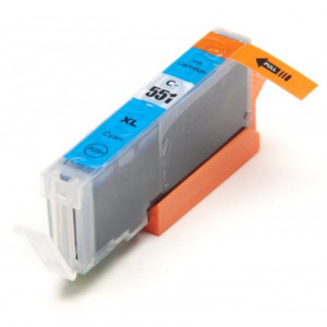 Canon CLI-551C XL Cyan, High Yield Compatible Ink Cartridge