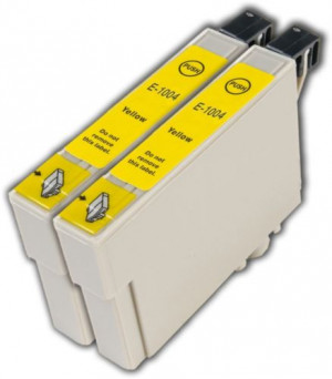 Epson T1004 (C13T10044010) Yellow, High Yield Remanufactured Ink Cartridge